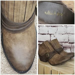 Altar'd State Ankle Booties